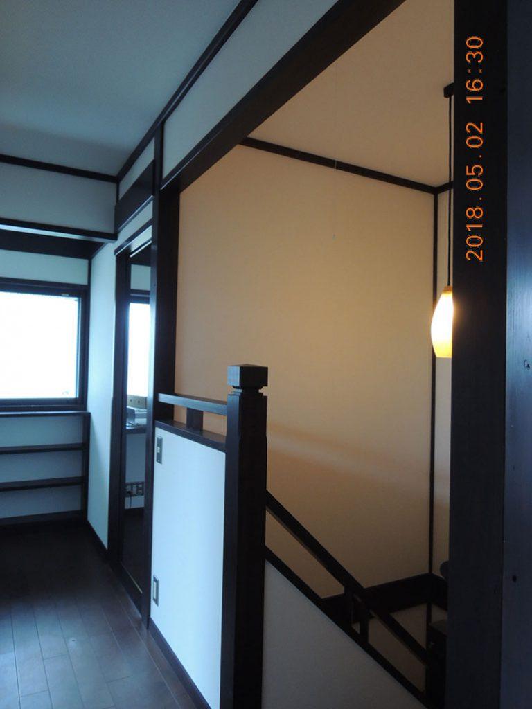 画像:階段室