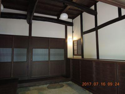 画像:土間玄関