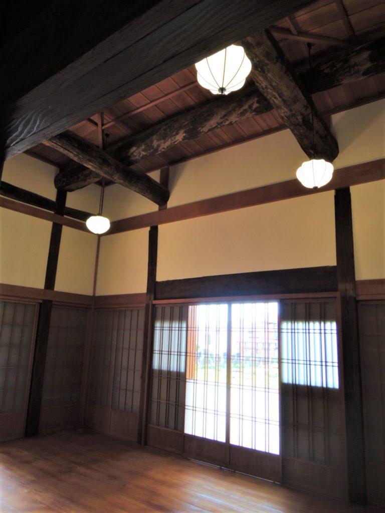 画像:270年前の縁ある寺の古材を再利用